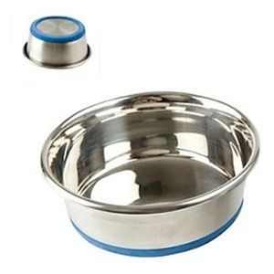 Durapet Stainless steel bowls x 6